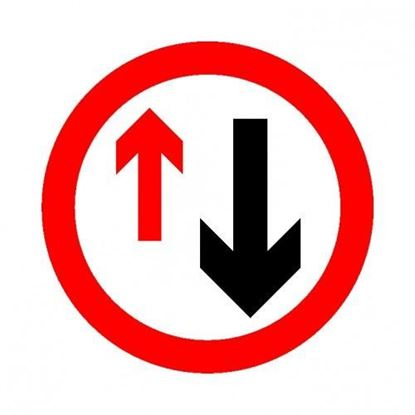 Priority Road Sign