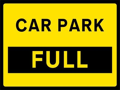 Car Park Full road signs